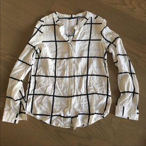 Tops - Grid print shirt